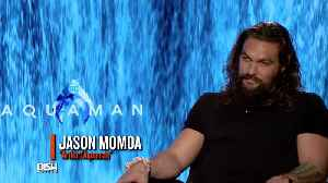 'Aquaman' Jason Momoa Says He Could Take Down The Little Mermaid In A Race [Video]