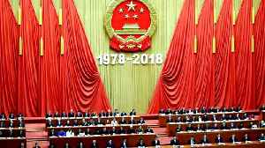 Marking 40 years of reform, Xi says China won't be dictated to [Video]