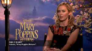 Emily Blunt's terrifying moment as the new Mary Poppins [Video]