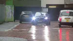 Mourinho leaves his Manchester hotel [Video]