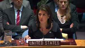 Haley presents U.S. Middle East peace plan in final remarks [Video]