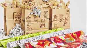 Chipotle Selling Limited Edition Wrapping Paper [Video]