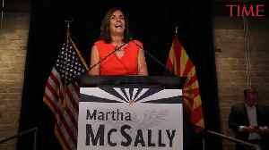 Arizona Governor Picks Martha McSally to Fill John McCain's Senate Seat [Video]