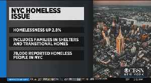 Report: Homelessness Increasing In NYC [Video]