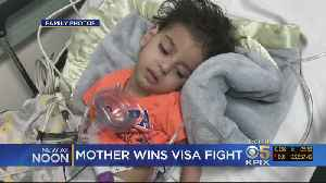 Yemeni Mother Wins Visa Fight To Re-Enter Country [Video]