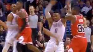 Russell Westbrook PISSED For Getting Shoved In BRAWL With Chicago Bulls [Video]