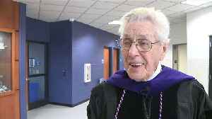 90-Year-Old WWII Vet from Receives Honorary Degree [Video]