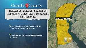 School District Partnering With Cosmetology School To Give Hair Care Services To Needy Students [Video]