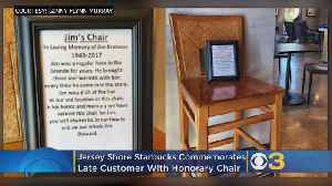 Jersey Shore Starbucks Commemorates Late Customer With Honorary Chair [Video]