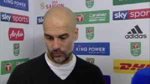 Pep proud of performance [Video]