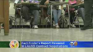 New Report Provides Some Optimism As Teacher's Strike Looms LAUSD [Video]