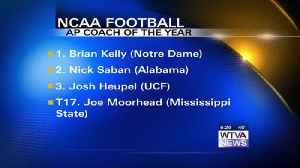 Notre Dame's Kelly named AP Coach of the Year [Video]