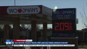Record holiday travel expected with low gas prices, strong economy [Video]