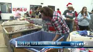 Toys for Tots distribution day [Video]