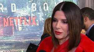 Sandra Bullock Says She Does Better Work When Her Kids Are on Set (Exclusive) [Video]