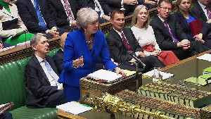 May's pantomime jab at Corbyn over no-confidence motion [Video]