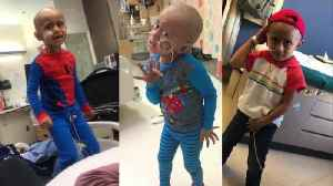 5-Year-Old Boy Dances to Michael Jackson During Chemo [Video]