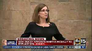 Martha McSally appointed to Senate [Video]