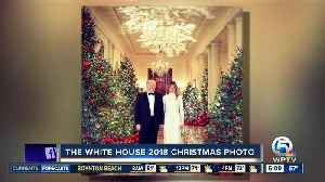 President Trump and Melania release 2018 White House Christmas photo [Video]