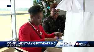 Holiday spirit apparent at Jackson-Evers Int'l Airport [Video]