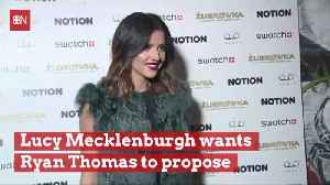Lucy Mecklenburgh Wants To Marry Fellow Star And Have Babies [Video]
