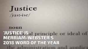 Merriam Websters 2018 Word Of The Year [Video]