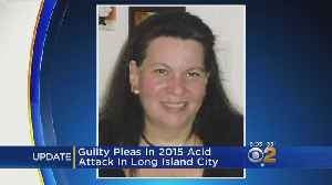 Suspect Pleads Guilty To Long Island City Acid Attack [Video]