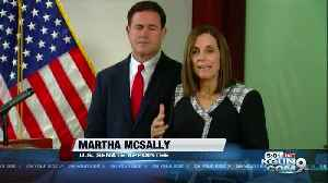 McSally appointed to U.S. Senate [Video]