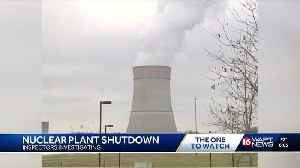 Grand Gulf nuclear power plant shutdown blamed on 'unexpected increase' in reactor pressure [Video]