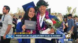 North County friends mourn college student killed in crash [Video]