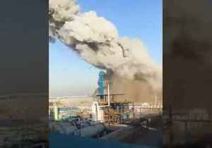 Thick Smoke Billows From Explosion at Chemical Plant in Shijiazhuang, Hebei Province [Video]