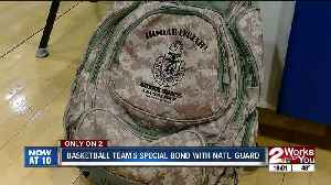 Ketchum High School basketball team forms bond with National Guard unit in Afghanistan [Video]