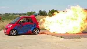 World's First Jet-Powered Smart Car | RIDICULOUS RIDES [Video]