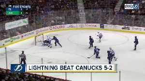 Kucherov, Lightning beat Canucks 5-2 in fight-filled game [Video]