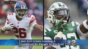 Jets And Giants Sending Combined Six Players To Pro Bowl [Video]