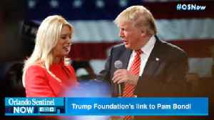 Trump 'illegal' charity closes. It's fall started with $25,000 given to Pam Bondi [Video]