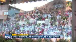 Swiss transplant brings life-sized advent calendar to New Glarus's downtown [Video]