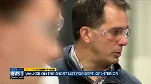 News video: Should Walker be the next Department of Interior chief? Former DNR heads weigh in