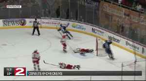 Comets beat Checkers in OT [Video]