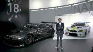BMW Art Cars - How a vision became reality, Augusto Farfus, BMW works driver [Video]