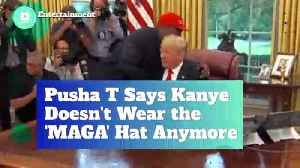 Pusha T Says Kanye Doesn't Wear the 'MAGA' Hat Anymore [Video]