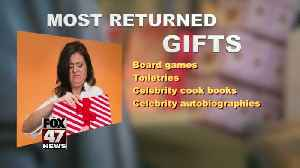 The most unwanted holiday gifts [Video]