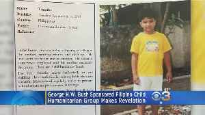 George H.W. Bush Sponsored Young Boy From Philippines [Video]
