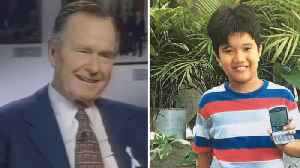 News video: George H.W. Bush Was Secret Pen Pals With a Filipino Boy