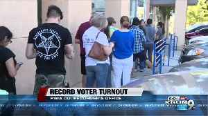 Record voter turnout for midterm elections in Pima County [Video]