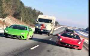 Supercar club needs armored escort for Christmas toy drive [Video]