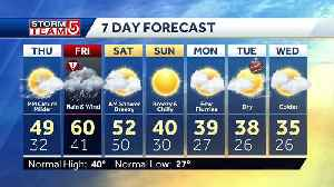 Video: Soaking rain moves in Friday [Video]