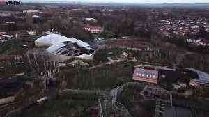 Aftermath Aerial Footage of Fire in Chester Zoo [Video]