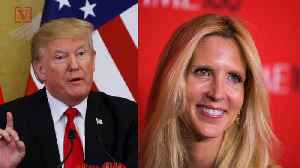 Trump Unfollows Ann Coulter on Twitter After She Slams Him Over Border Wall Fail [Video]