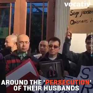 Chinese Activists Shave Heads to Protest the Arrest of Lawyer Husbands [Video]